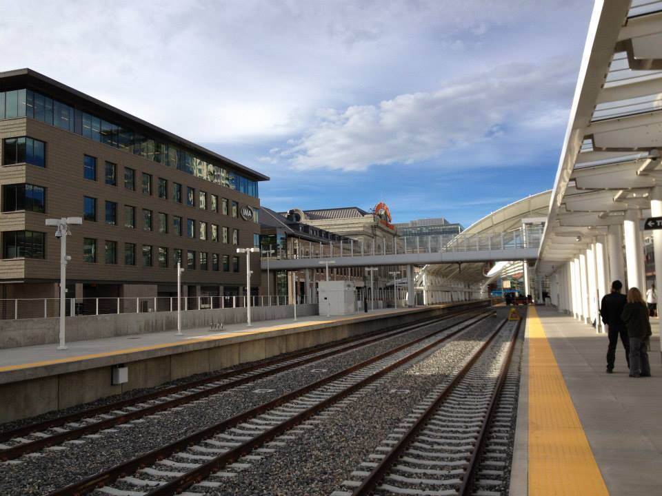 California Zephyr - Denver Station Platform