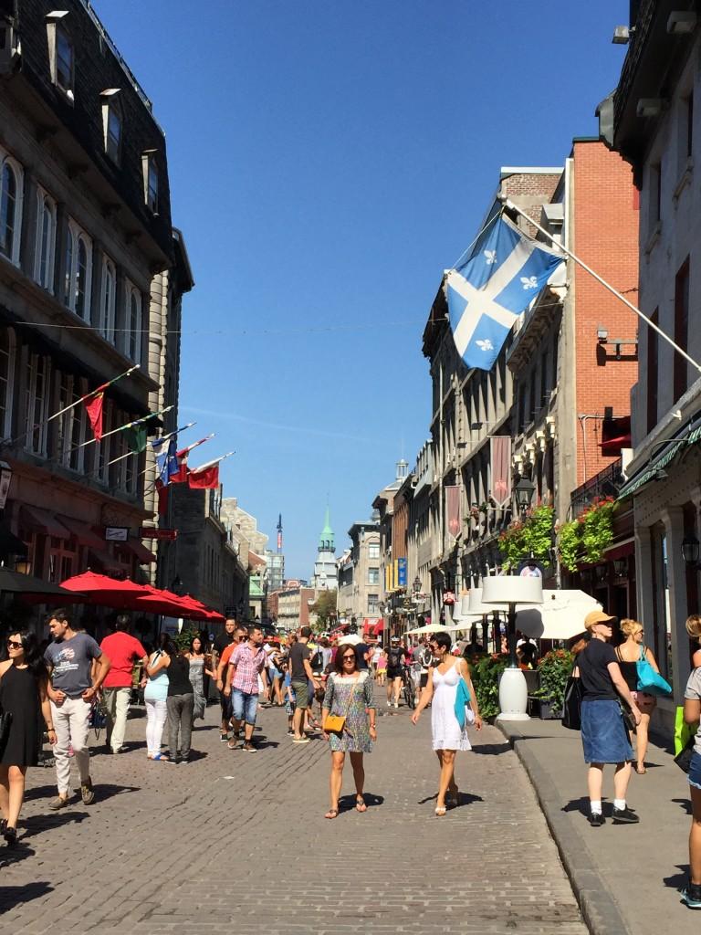 Street scene around the Old Port area