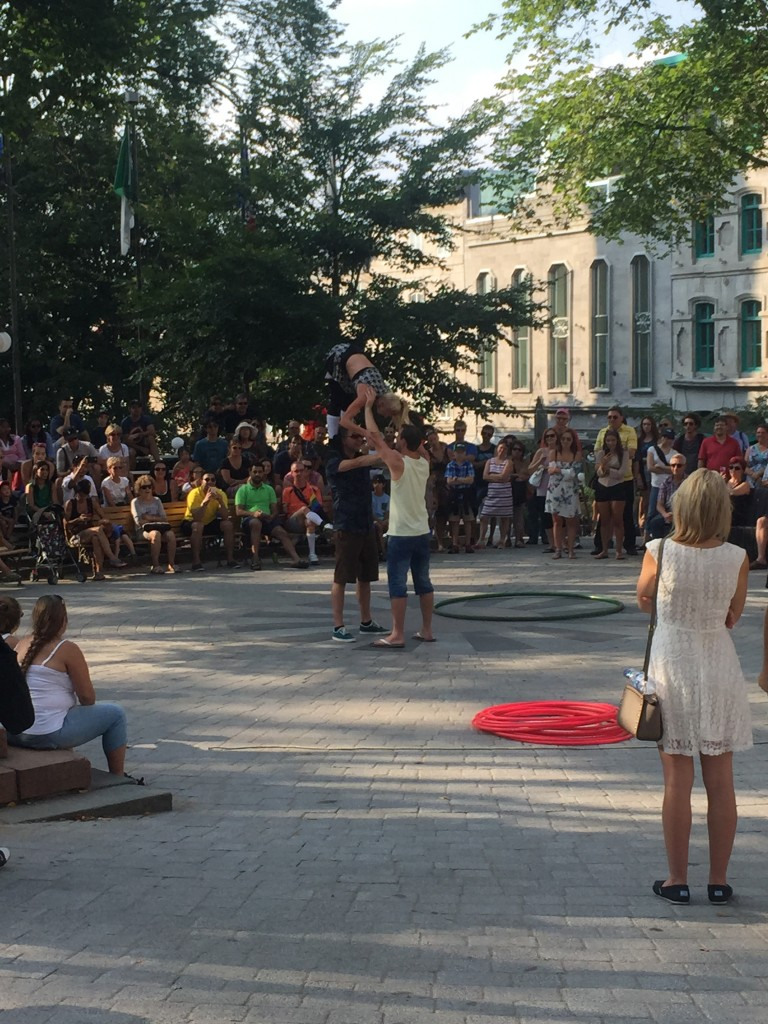 Street Performance in Quebec City