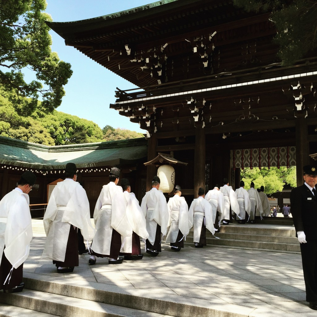 Shinto Ceremony at Meiji Shrine