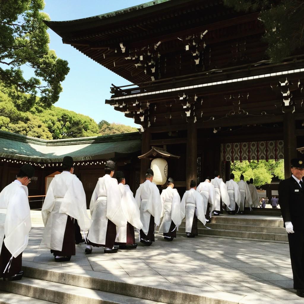 Shinto Ceremony at Meiji Shrine
