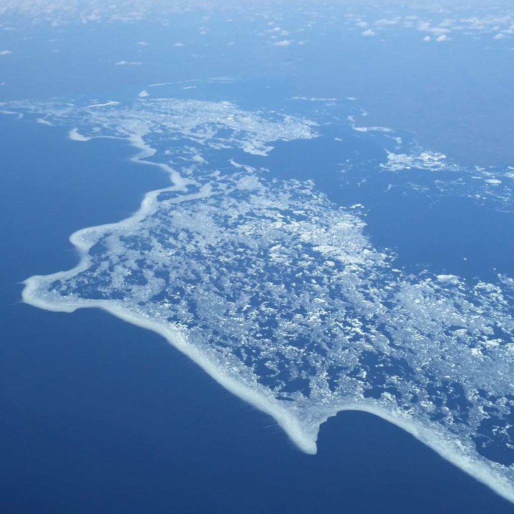Winter over Northern Canada