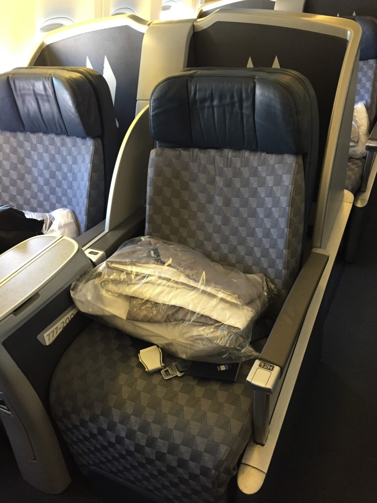 American Airlines Business Class to Beijing