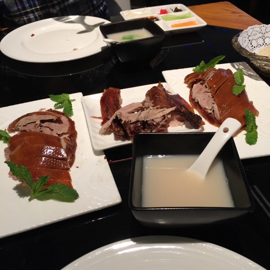 Peking Duck at Dadong