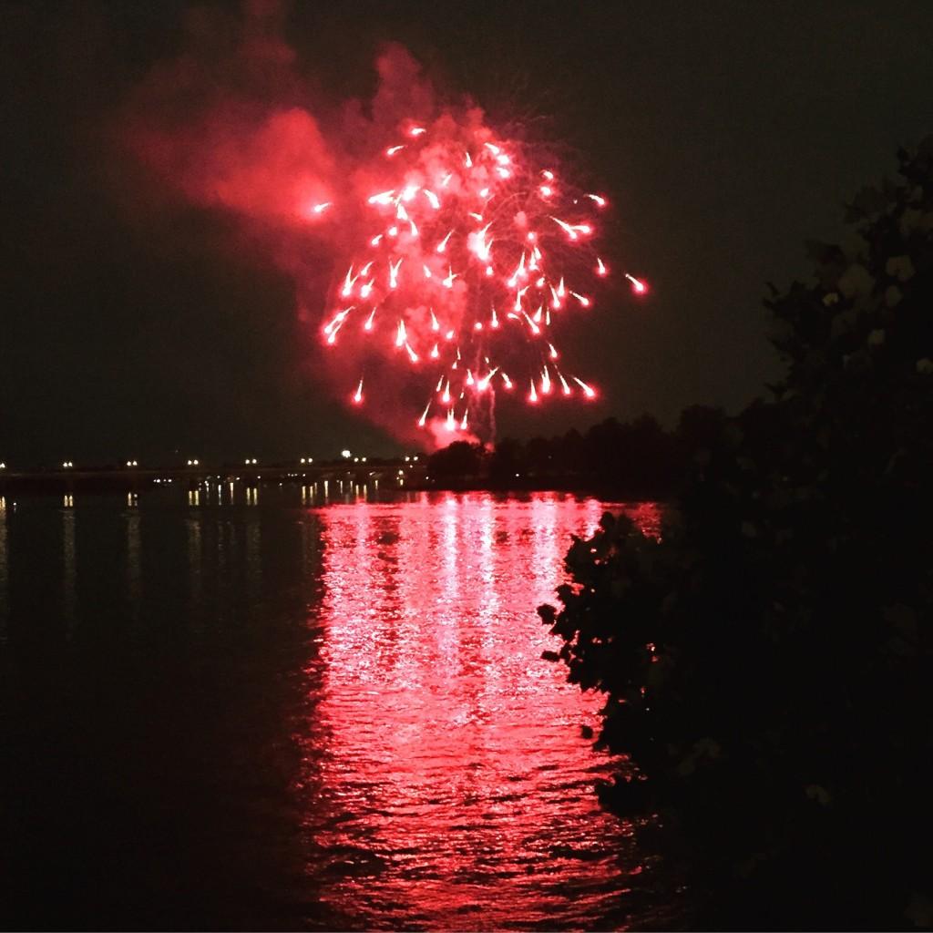 Fireworks over the Susquehanna, Harrisburg