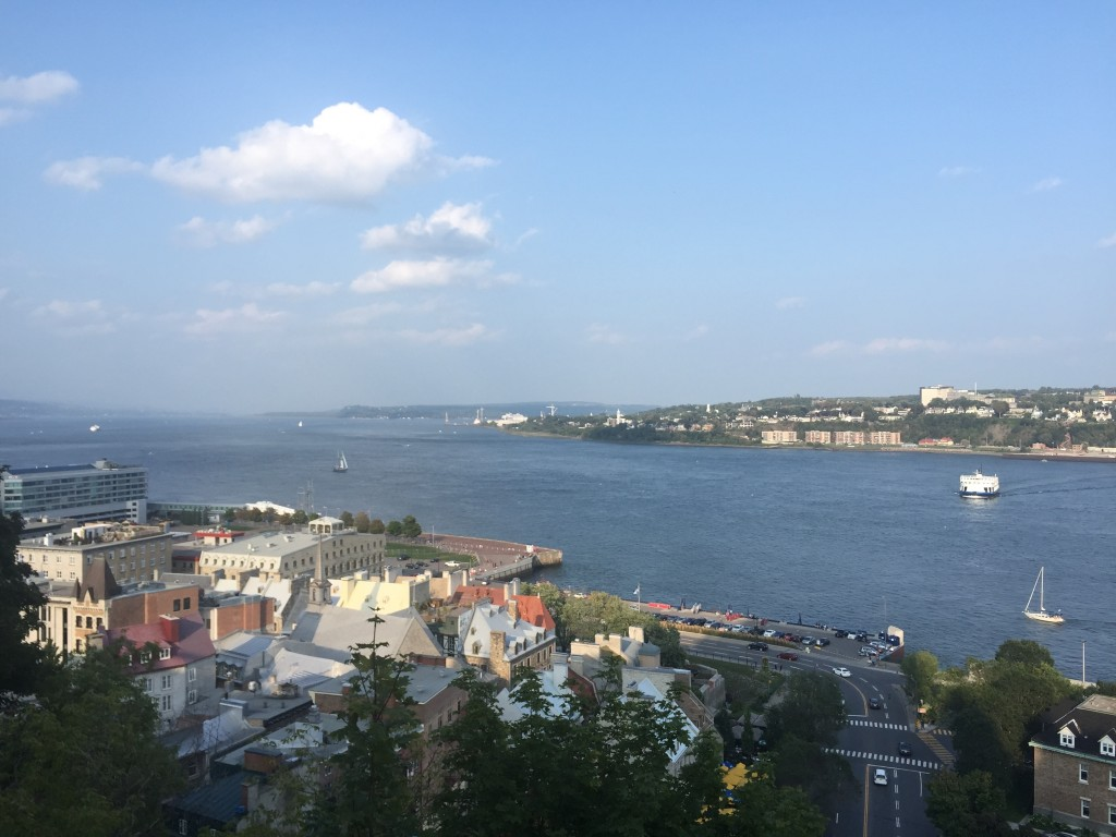 St. Lawrence River in Quebec City