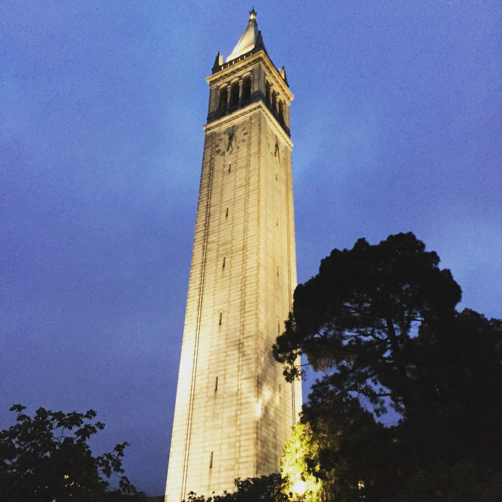 Morning run around Cal-Berkeley