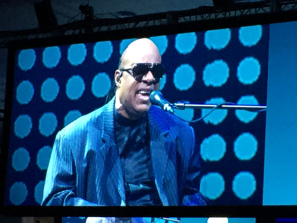 Stevie Wonder at Dreamforce 2015