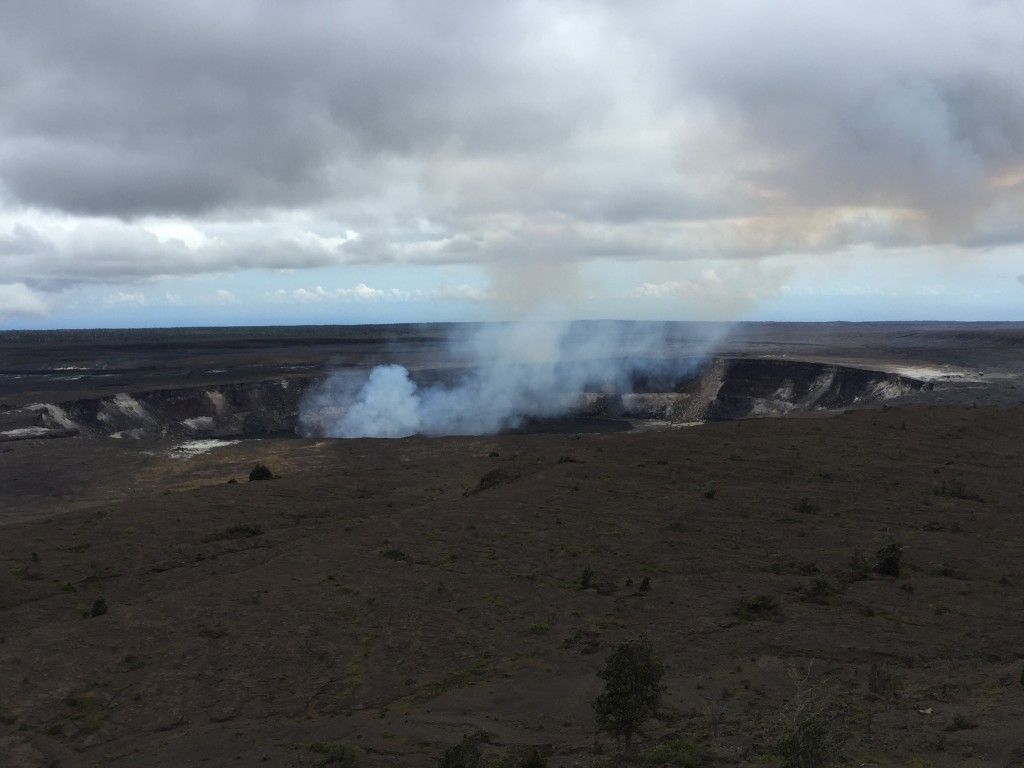Volcanoes National Park in Hawaii