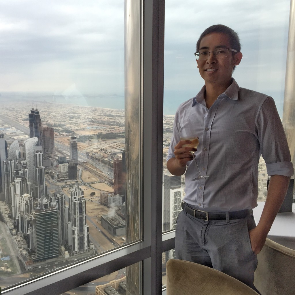 High Tea at Burj Khalifa