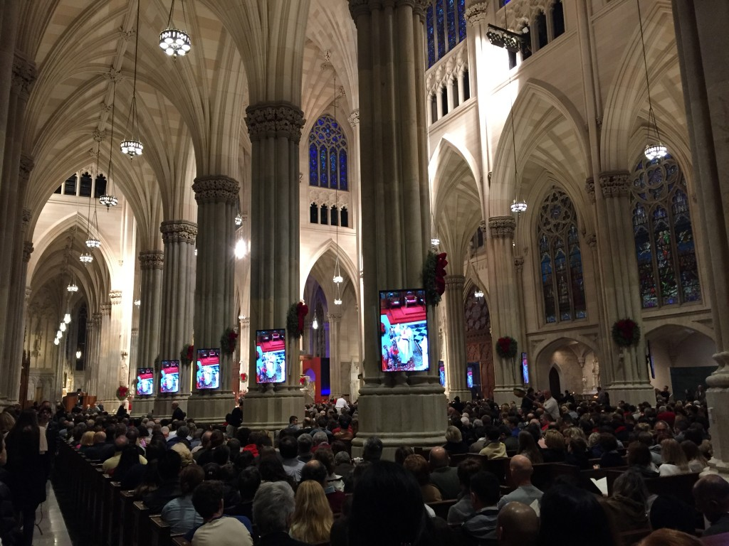 Sunday Mass at St. Patricks, NYC