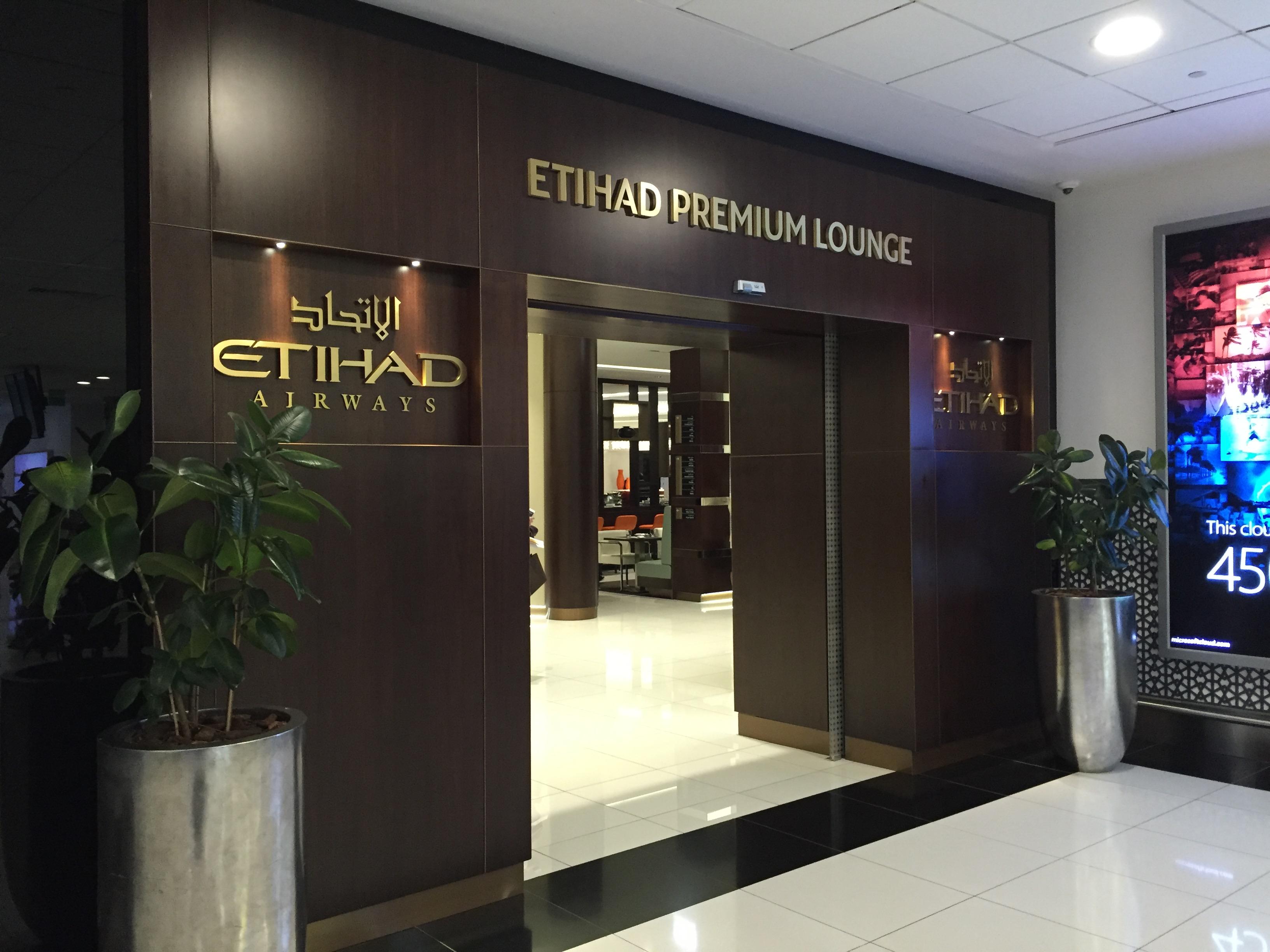 Etihad Premium Lounge