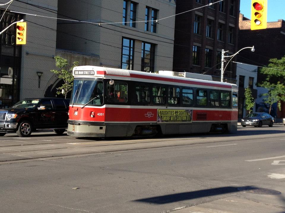 Toronto's streetcar network is one of the most extensive in North America.