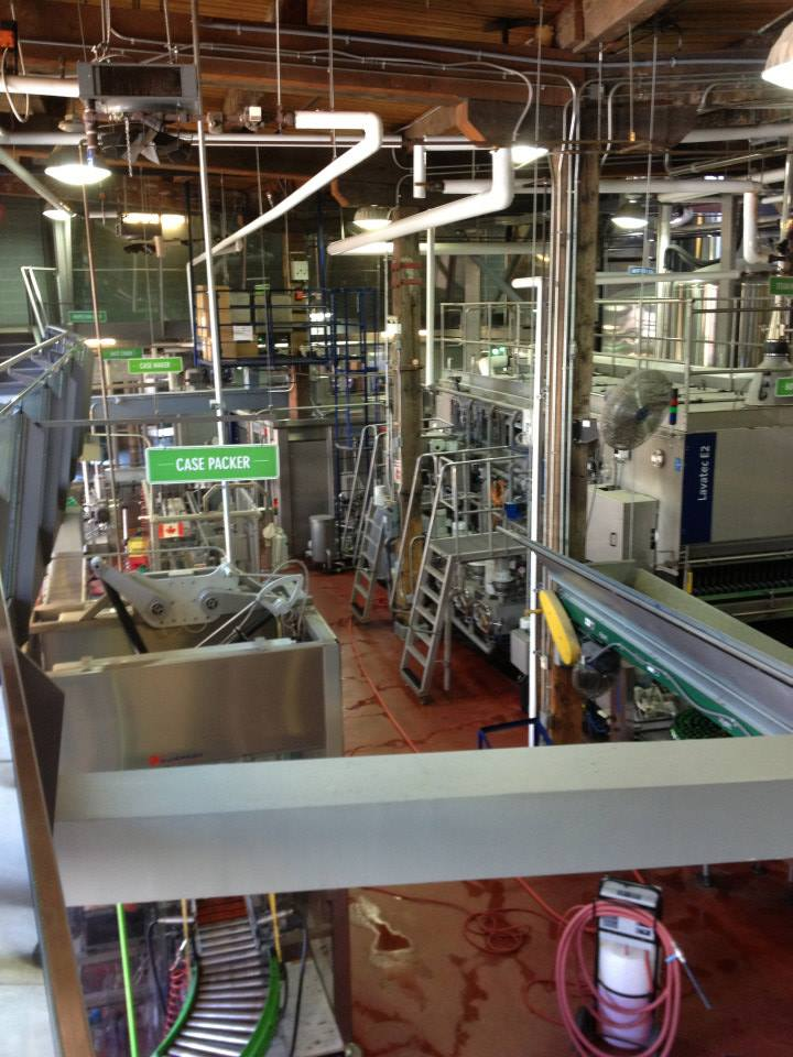 Tour of the brewery