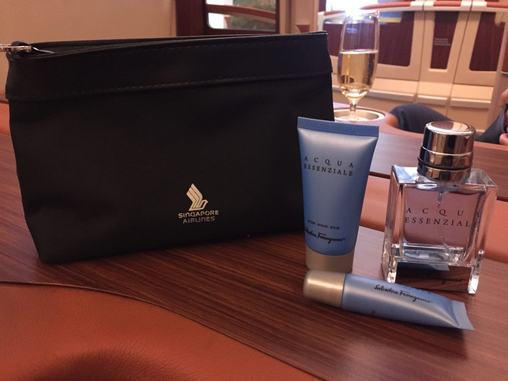 Singapore Suites Class Amenity Kit