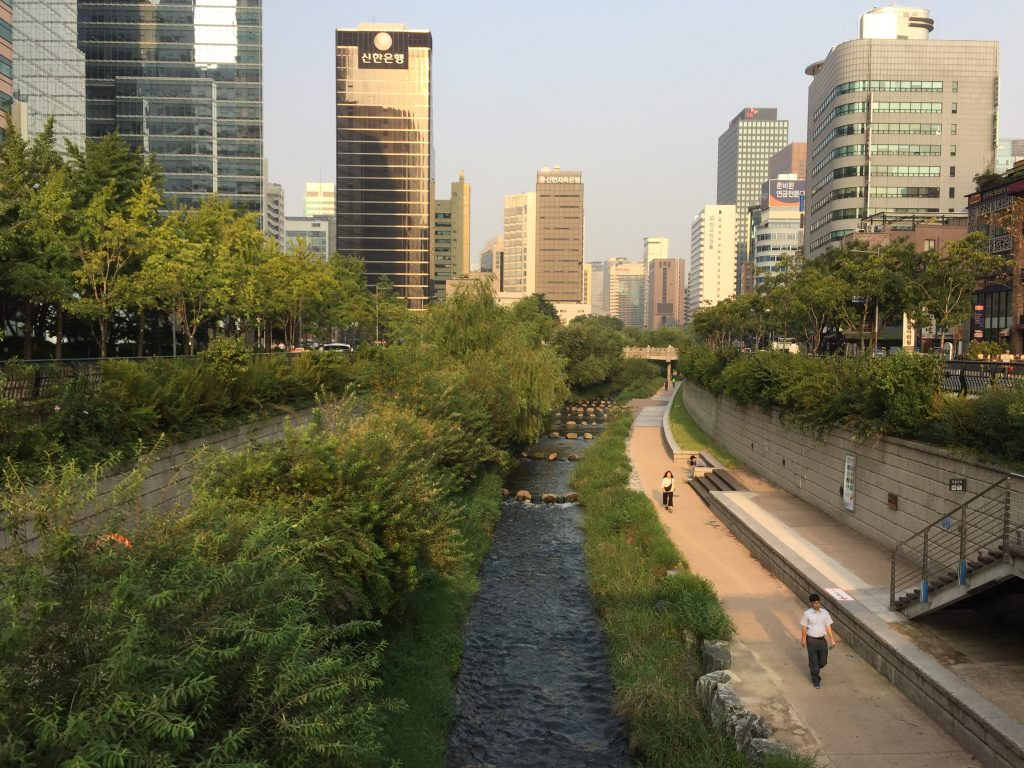 Changyecheon in Seoul