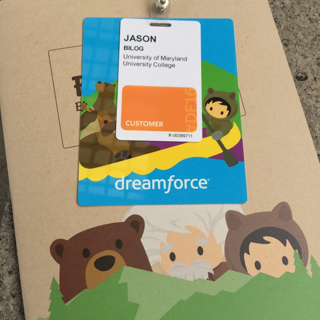 Dreamforce 2016 Badge