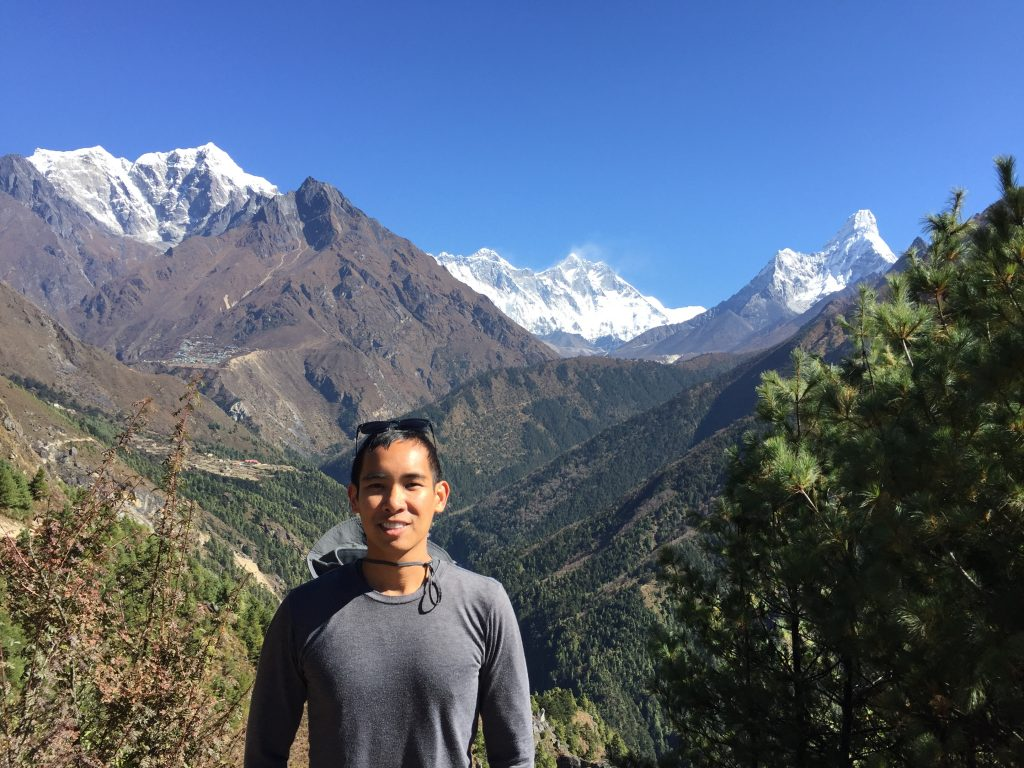 View of Ama Dablam