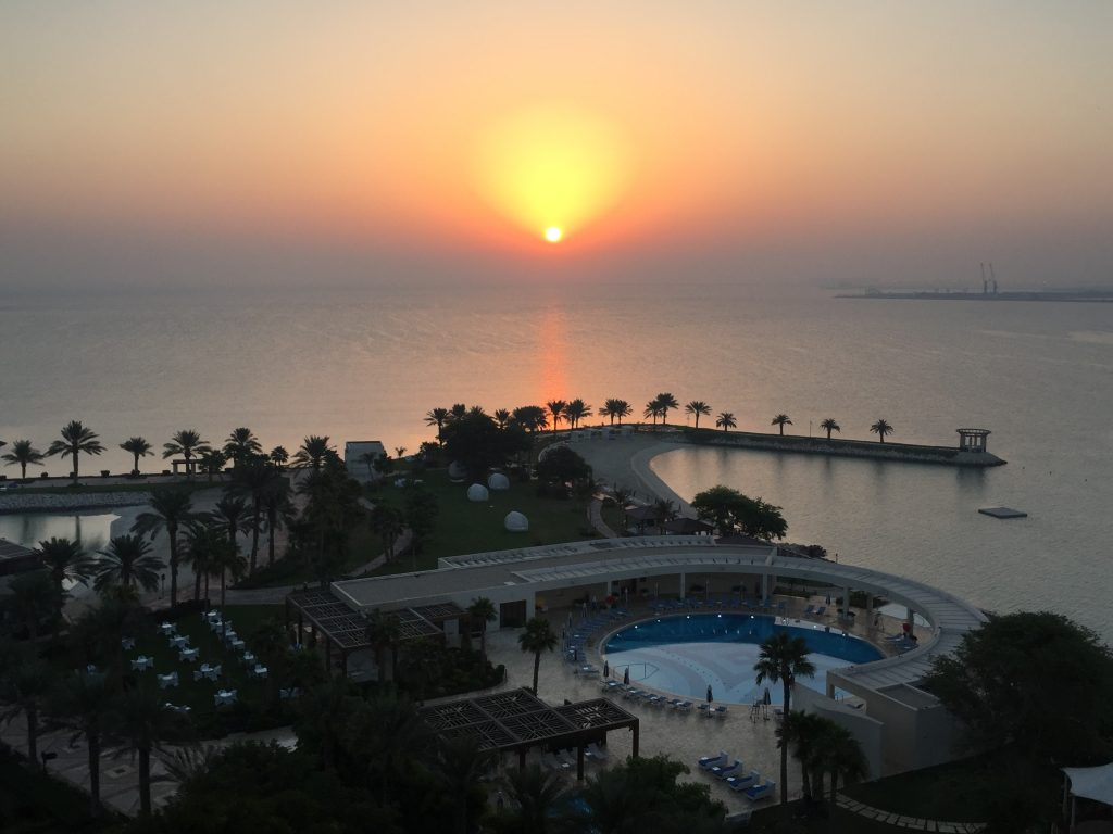 Sunrise in Doha