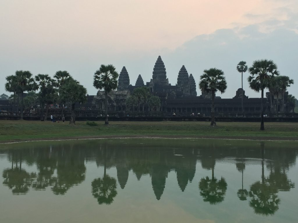 Sunrise at Angkor Wat!