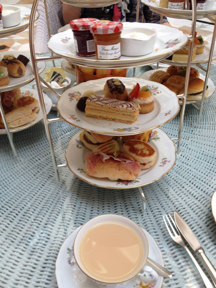 High Tea at the Imperial in Delhi.