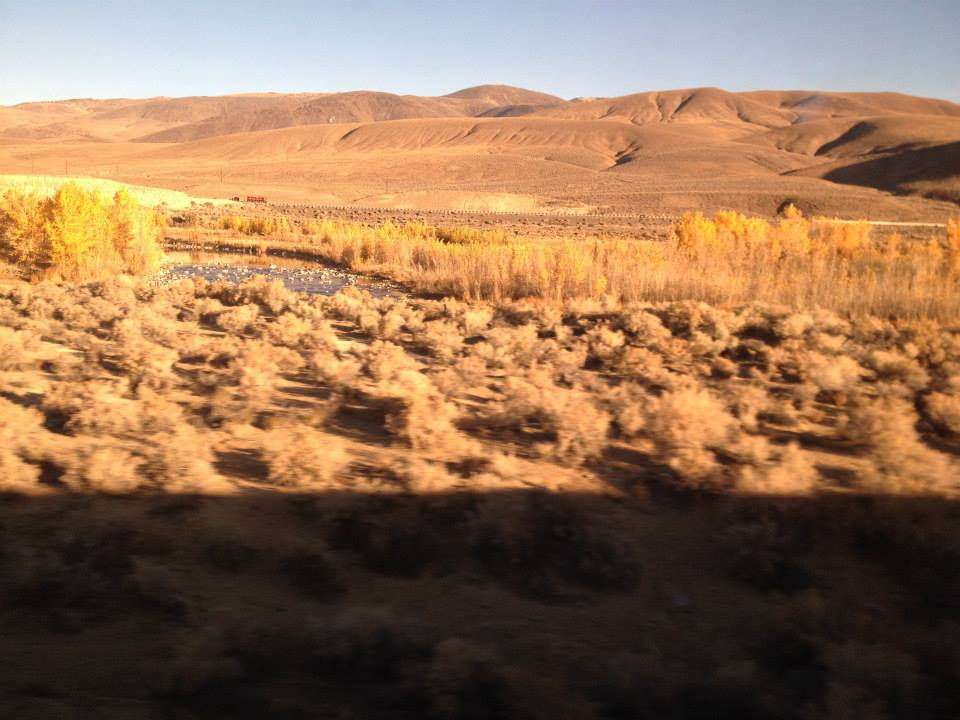 California Zephyr - Desert River