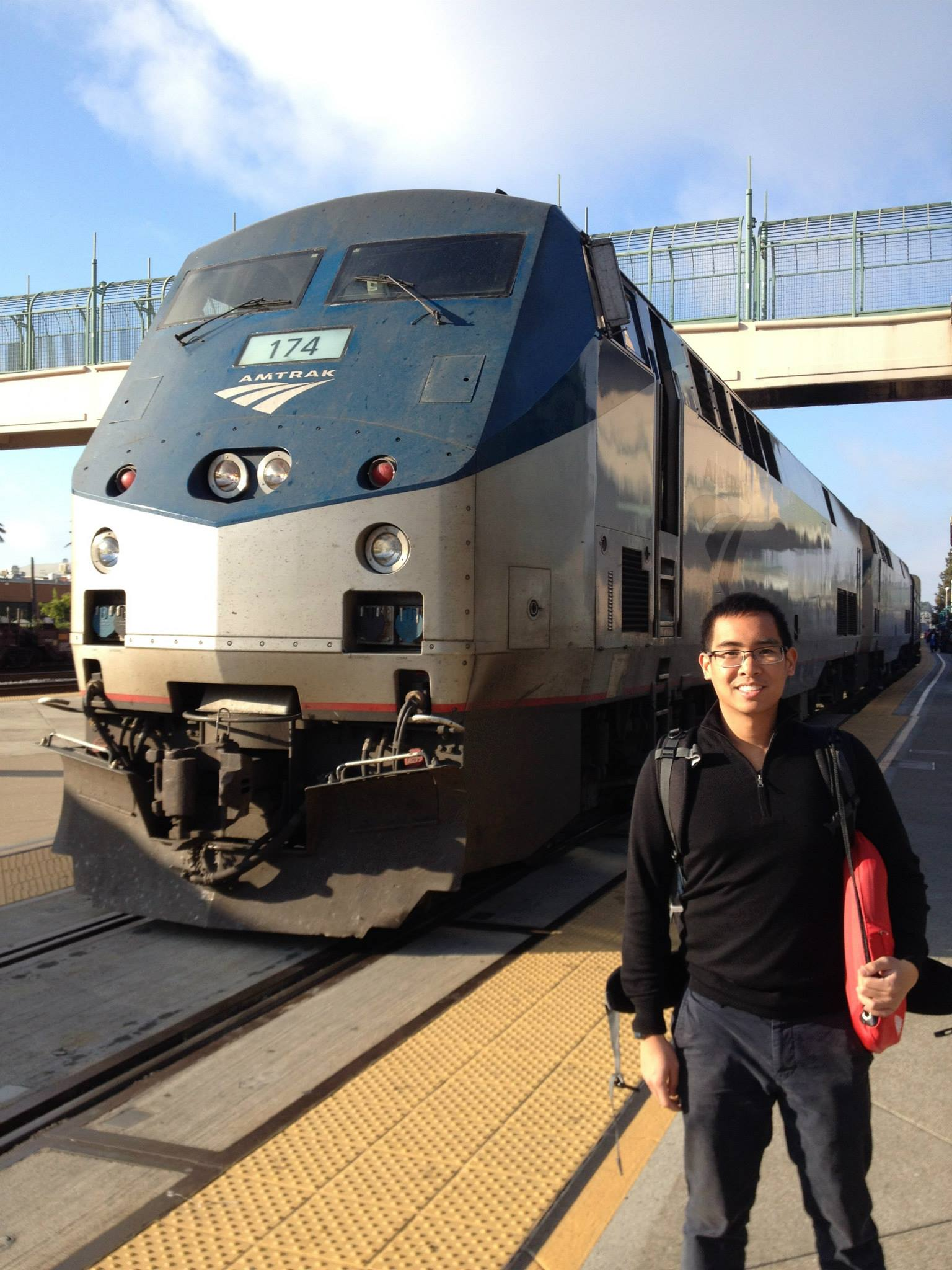 California Zephyr - Emeryville Station