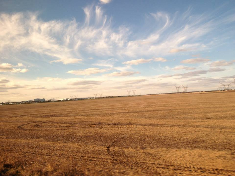 California Zephyr - Northern Illinois Skies