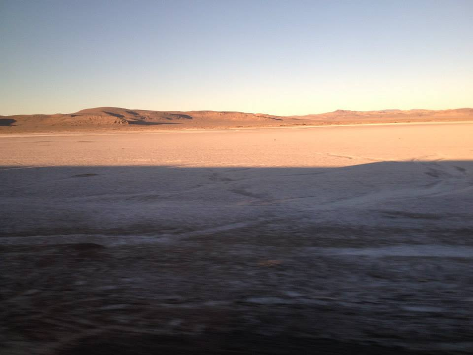 California Zephyr - Salt Flats