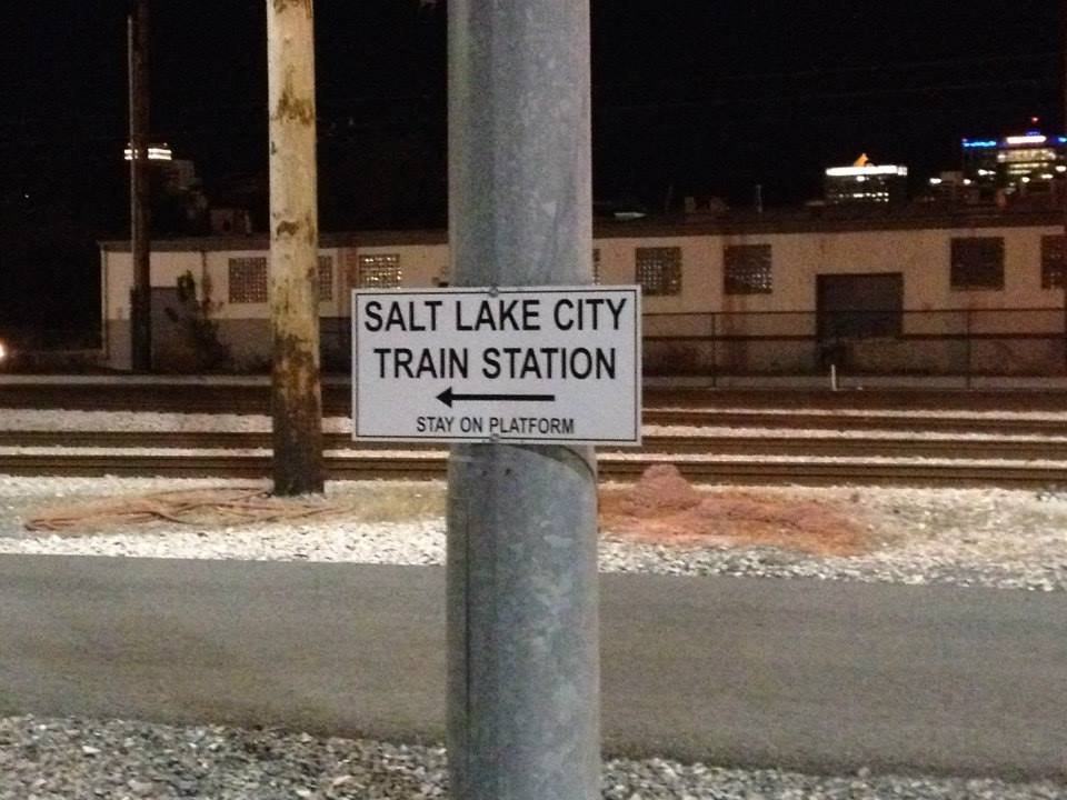 California Zephyr - Salt Lake City Station