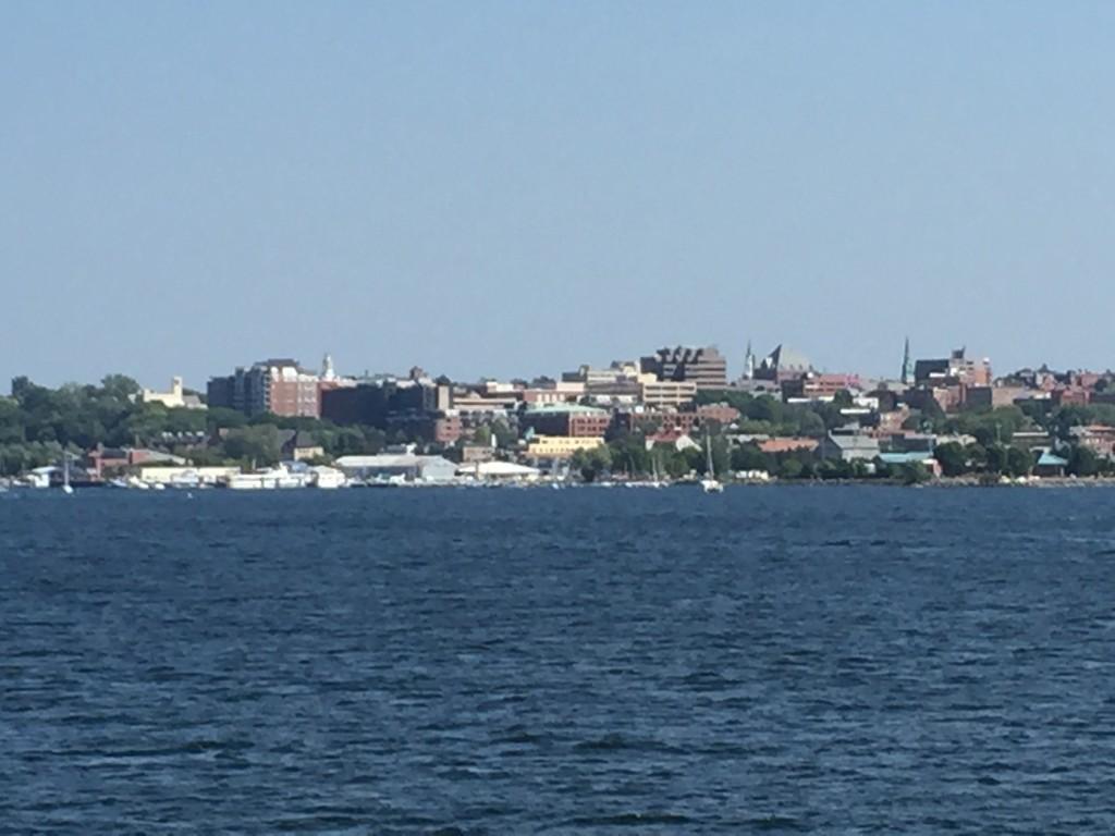Burlington - View of Downtown