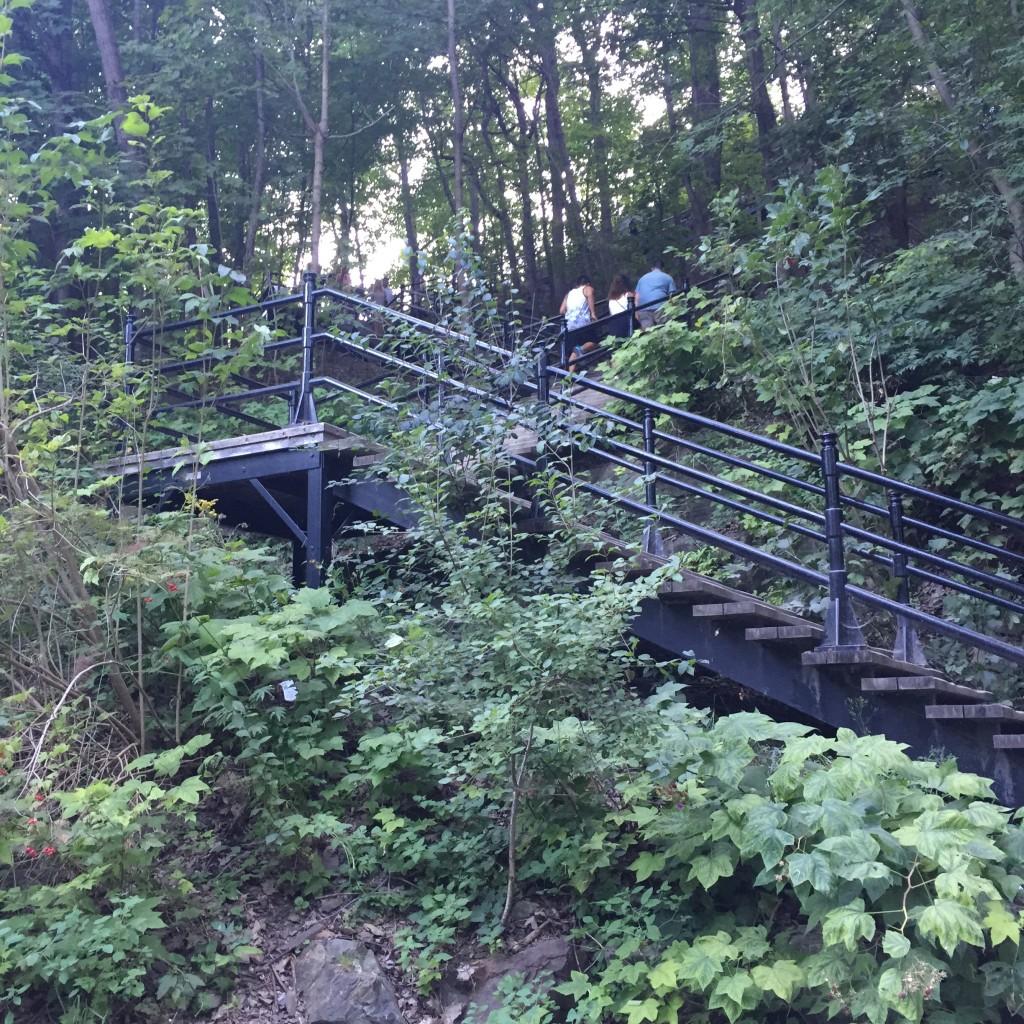 Staircase at Mount Royal Park