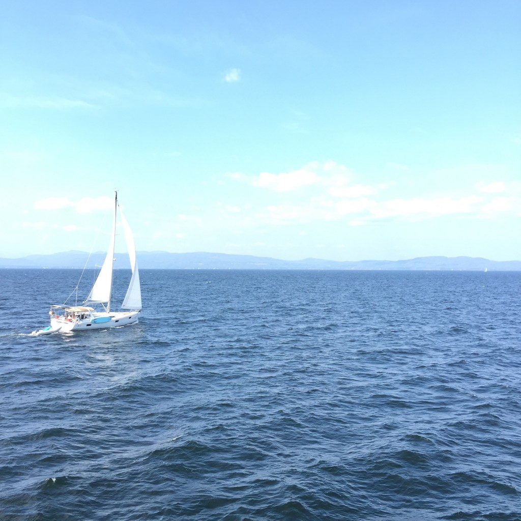 Toured Lake Champlain