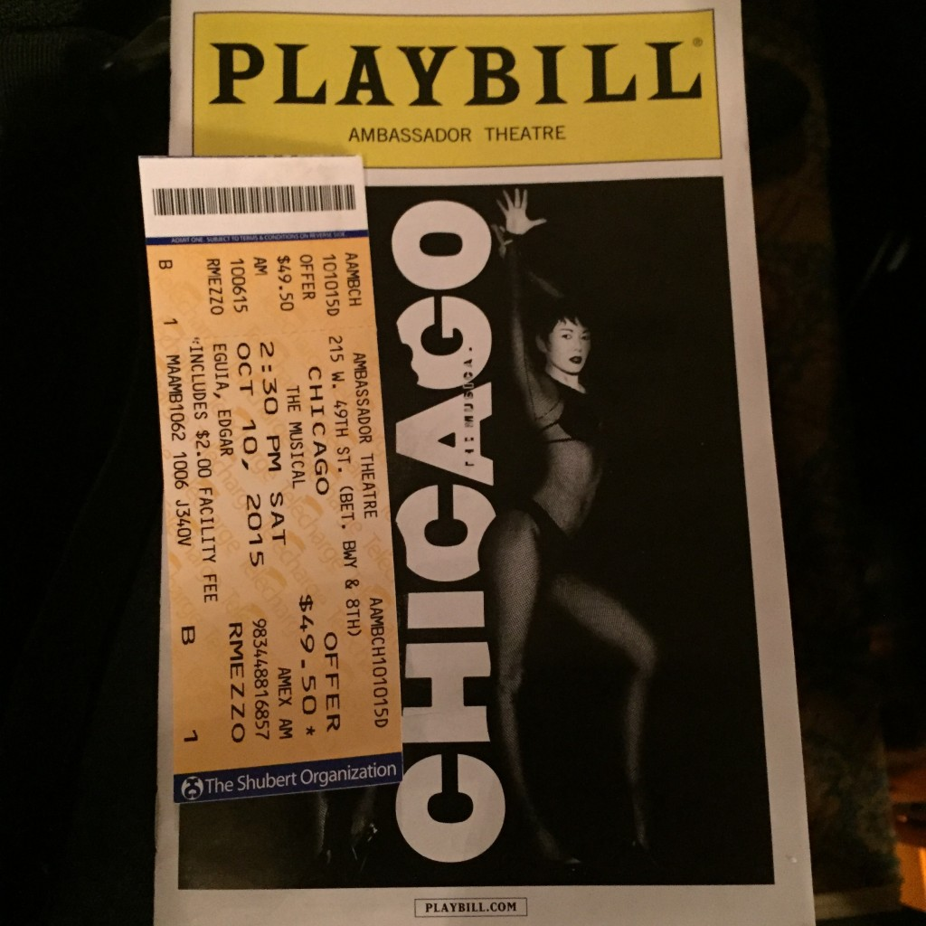 Chicago The Musical on Broadway