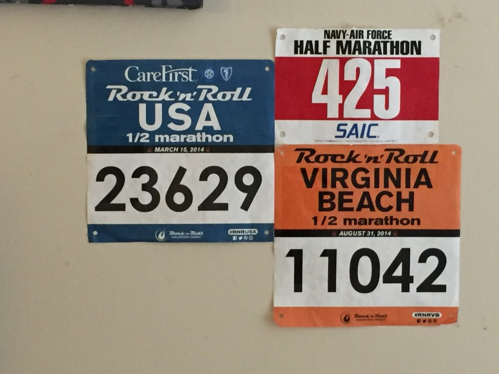 Half Marathon Bibs
