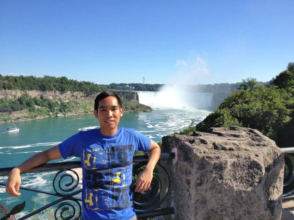 At Niagara Falls