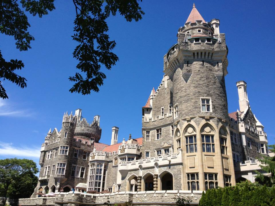 View of Casa Loma