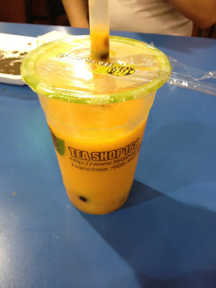 Mango Boba at Pacific Mall!!