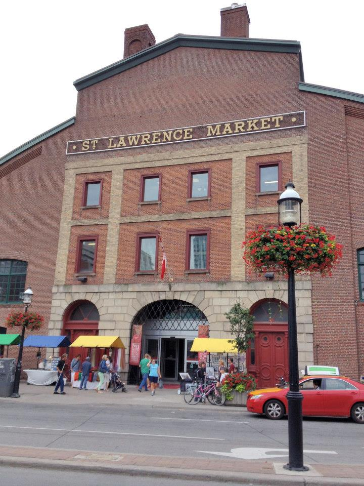 Entrance to St. Lawrence Market.