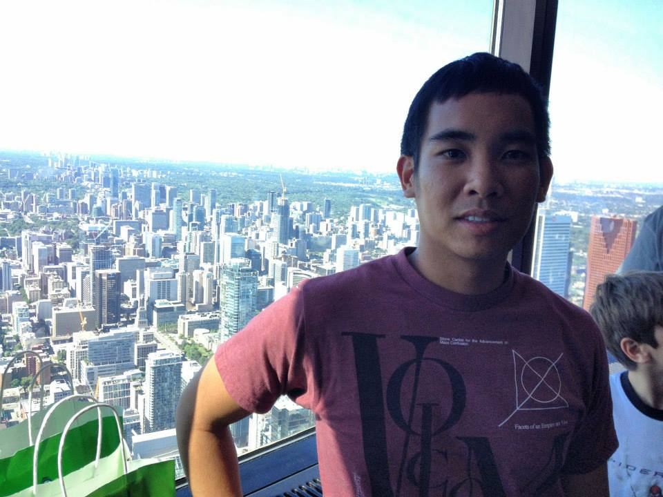 At the CN Tower