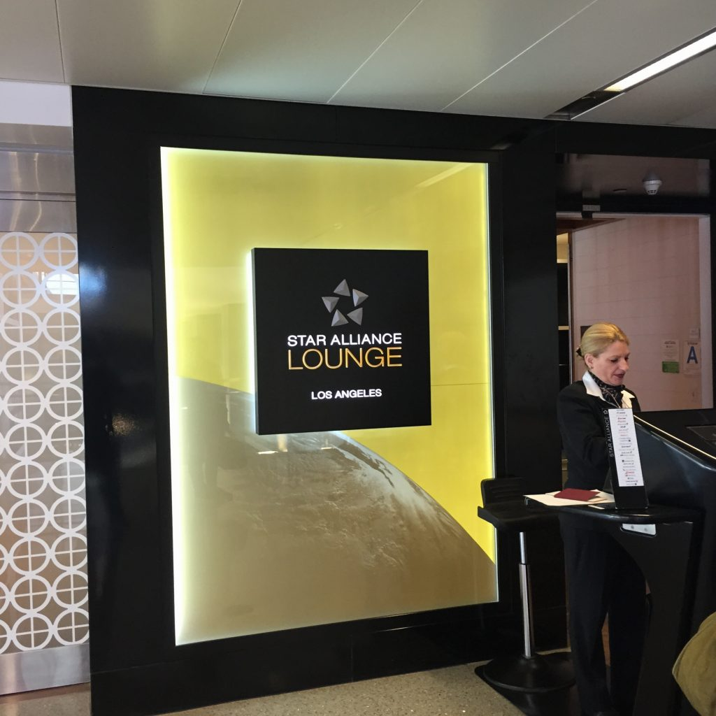 Star Alliance First Class Lounge at LAX
