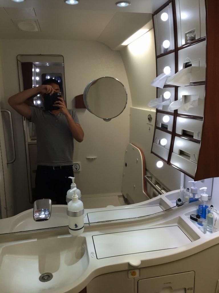 Singapore Suites Class Bathroom