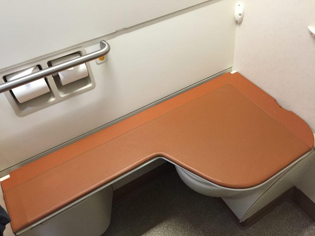 Singapore Suites Class Bathroom Seat