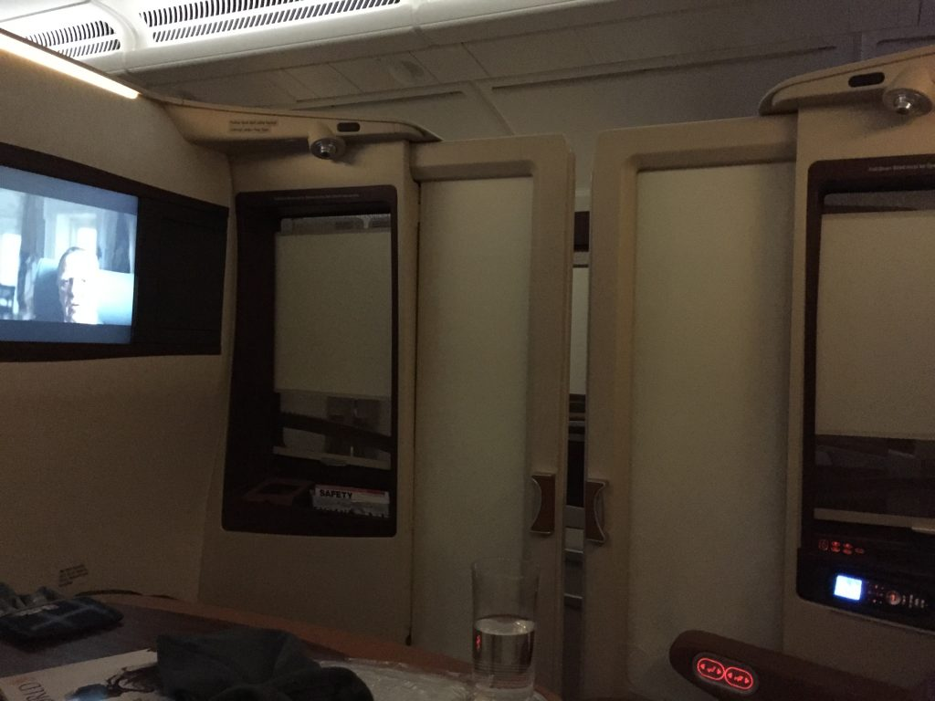 Singapore Suites Class with door closed