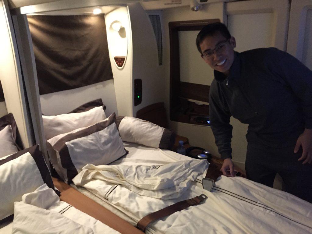 Singapore Suites Class Bed