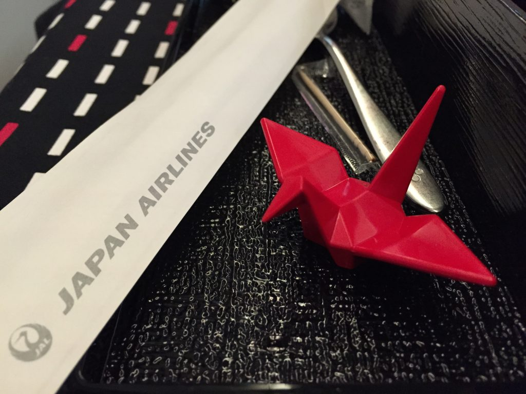 JL004 crane chopsticks holder