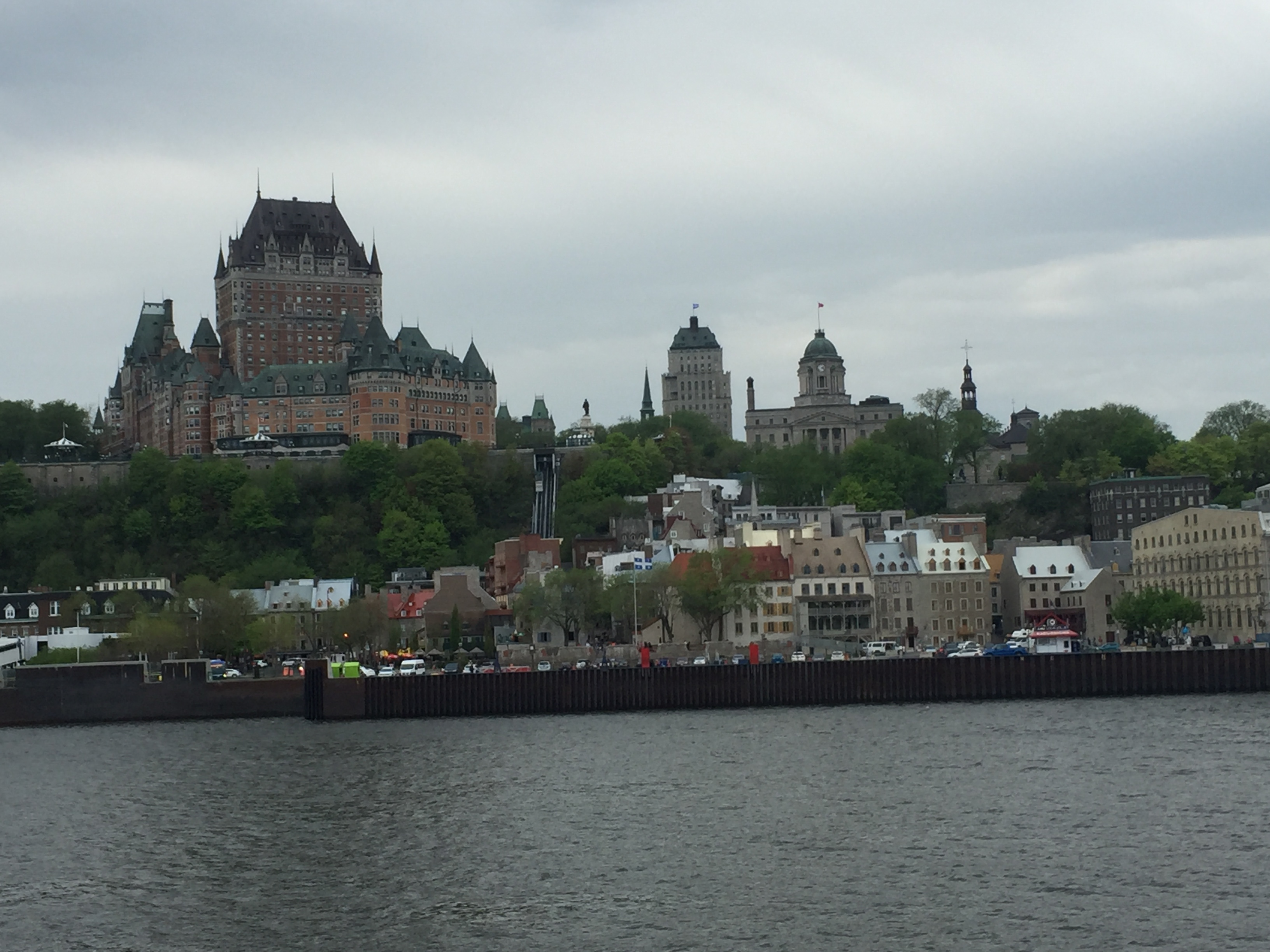 Crossing the St. Lawrence